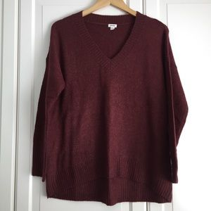 Garage Rust V-neck Sweater